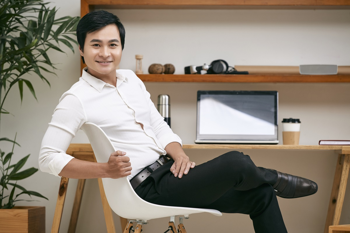Young Business Leader At Office